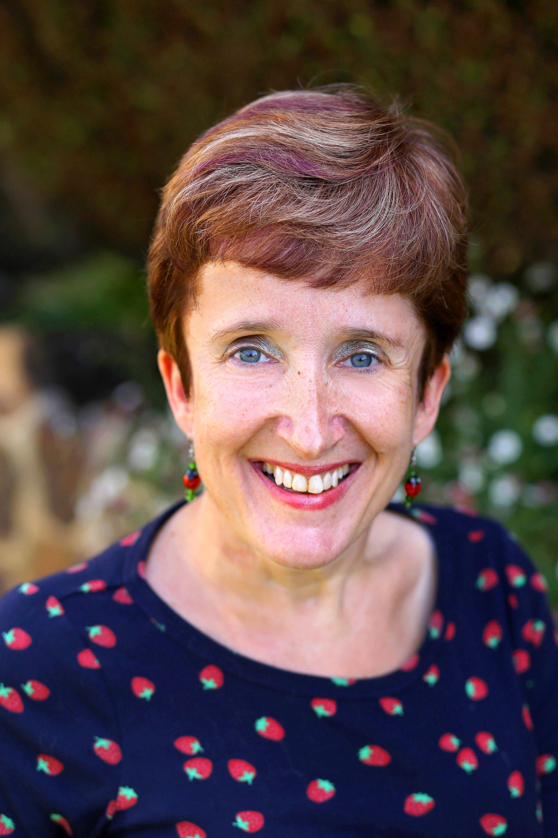 Samantha Joyce, Counsellor, Smiling